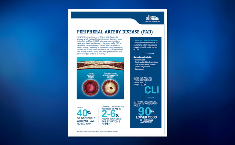 Peripheral Artery Disease Overview